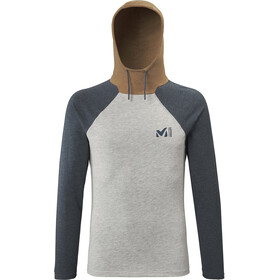Millet Red Wall Light Sudadera Hombre, heather grey/orion blue
